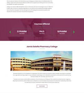 Jamia Salafia Pharmacy College Malapuram