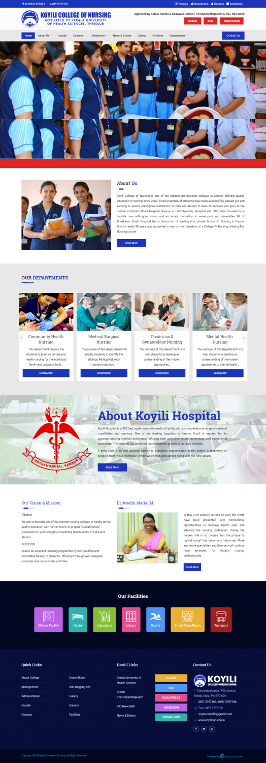 Koyili College of Nursing Kannur